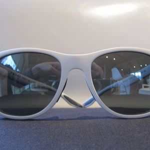 PRADA Full White Frame Sunglasses